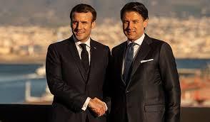 Emmanuel Macron pide en Italia colaboración para frenar al COVID-19